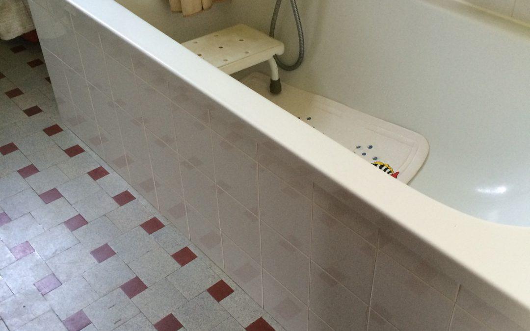 Planche de bain ou siège de bain