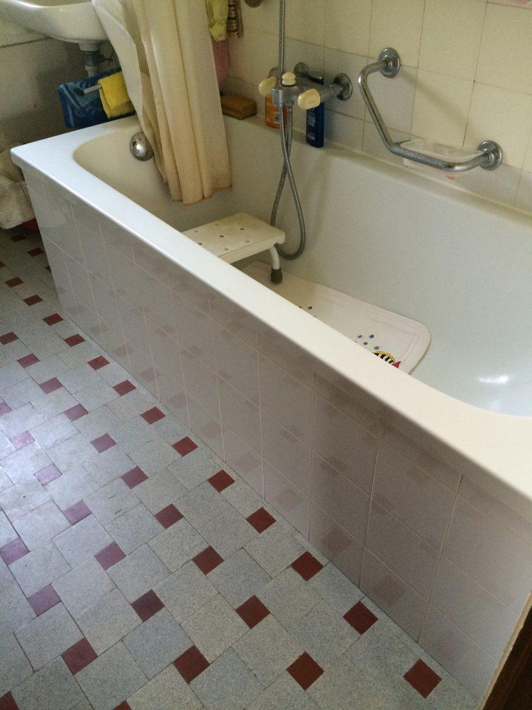 Création d'un accès de baignoire CONFORTACCESS